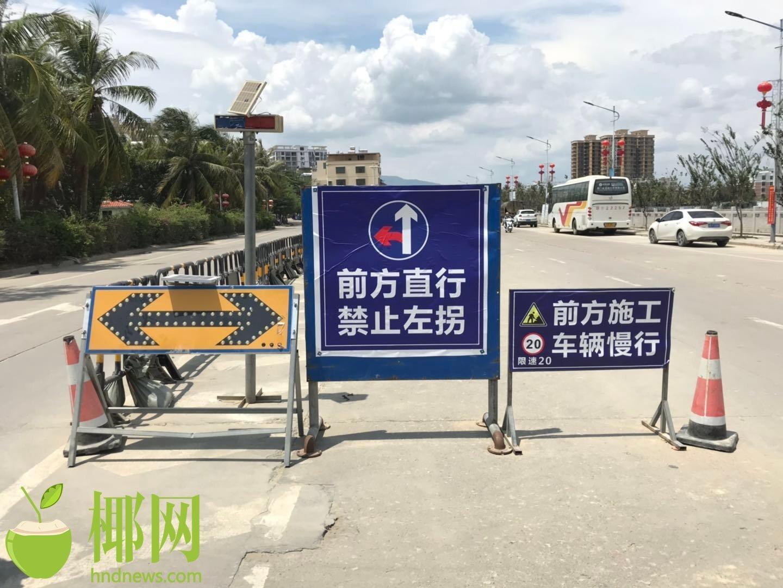 """三亚""""父子双亡交通事故""""系道路施工方管理不规范所致?交警回应"""